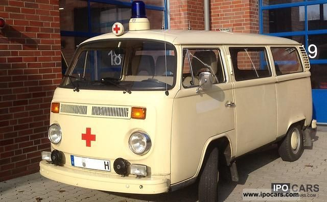 Volkswagen  T2 ambulance 1974 Vintage, Classic and Old Cars photo