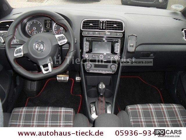2011 volkswagen polo 1 4 gti dsg navi xenon pdc climate. Black Bedroom Furniture Sets. Home Design Ideas