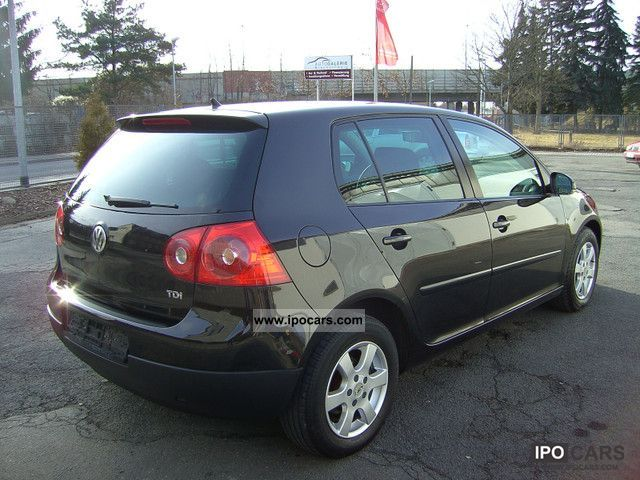 2006 volkswagen golf v 1 9 tdi trendline 4t rig klimaautomatik car photo and specs. Black Bedroom Furniture Sets. Home Design Ideas