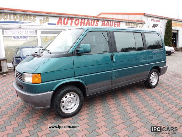 1995 Volkswagen Multivan T4 70b Md2 Air Car Photo And Specs