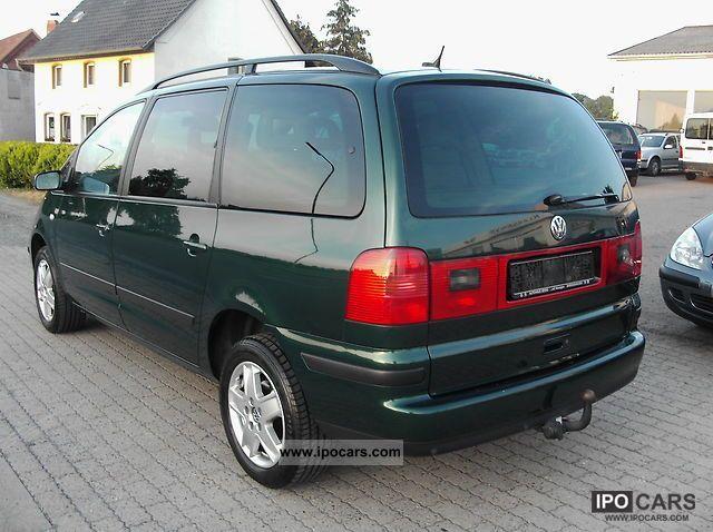 2003 Volkswagen Sharan 1 9 Tdi Family Navi Green Plak