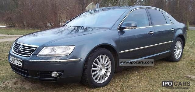 Volkswagen  Phaeton 3.2 V6 5-seater LPG 2003 Liquefied Petroleum Gas Cars (LPG, GPL, propane) photo