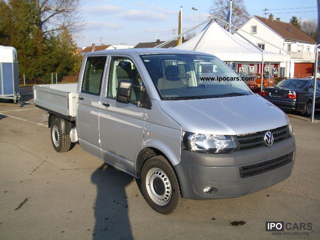 2010 volkswagen t5 platform 2 0 doka lr car photo. Black Bedroom Furniture Sets. Home Design Ideas