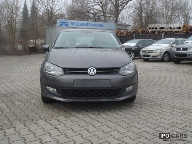 2009 volkswagen polo 1 6 tdi comfortline car photo and specs. Black Bedroom Furniture Sets. Home Design Ideas