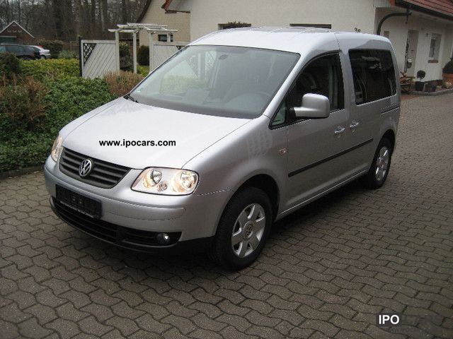Volkswagen  Caddy EcoFuel 2.0 Winners (5-Si.) 2009 Compressed Natural Gas Cars (CNG, methane, CH4) photo