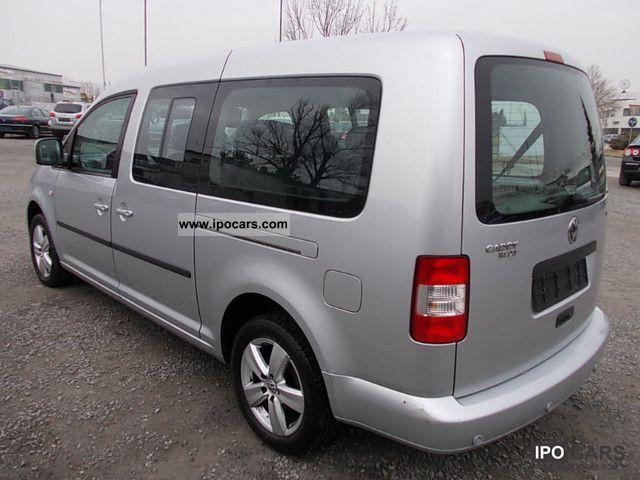 7fab304dca 2009 Volkswagen Caddy 1.9 TDI DSG MAXI 7 SEATER AIR TV TUNER Estate Car  Used vehicle