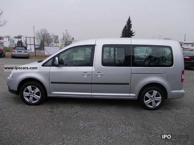 2009 volkswagen caddy 1 9 tdi dsg maxi 7 seater air tv. Black Bedroom Furniture Sets. Home Design Ideas