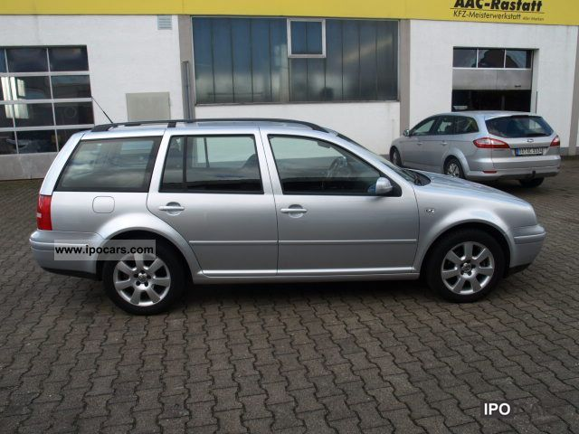 Toyota Corolla Mpg >> 2005 Volkswagen Pacific Golf Variant 1.4 - Car Photo and Specs