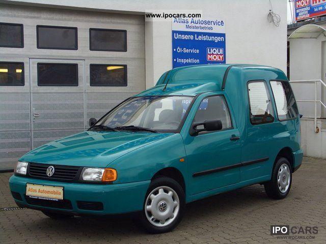 1999 Volkswagen Caddy Kombi 14 Family 5 Seater 1 Hand VW Estate Car