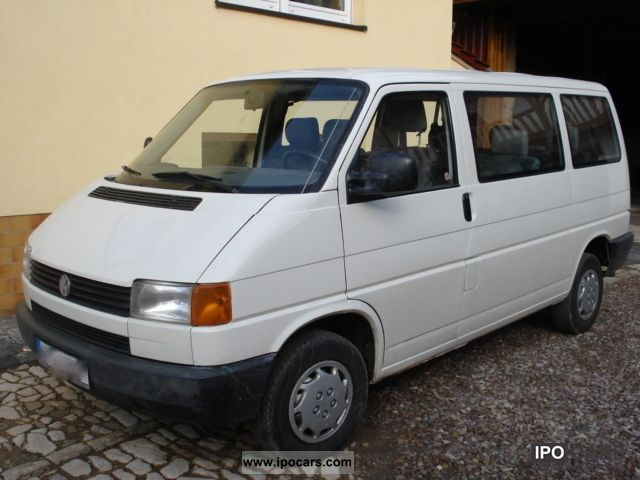 1993 Volkswagen Caravelle T4 Td C First Hand Car Photo