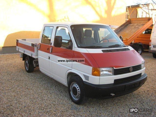 2001 volkswagen td t4 doka platform trailer hitch car. Black Bedroom Furniture Sets. Home Design Ideas