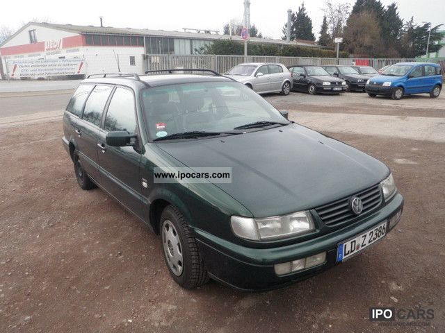 1996 Volkswagen Passat Variant 1.9 TDI Classic Line - Car Photo and Specs