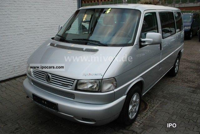 2002 volkswagen t4 multivan 2 5 tdi 7 seater atlantis bed. Black Bedroom Furniture Sets. Home Design Ideas