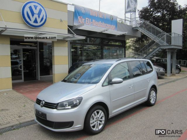 2012 Volkswagen  Touran 1.4 TSI Comfortline NEW MODEL 7-seater Van / Minibus Used vehicle photo