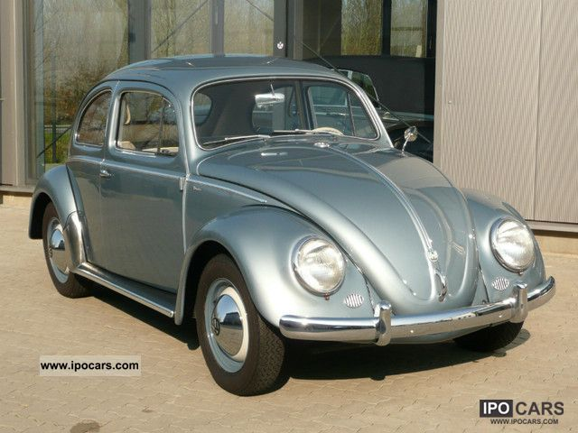 1958 Volkswagen  Beetle Small Car Classic Vehicle photo