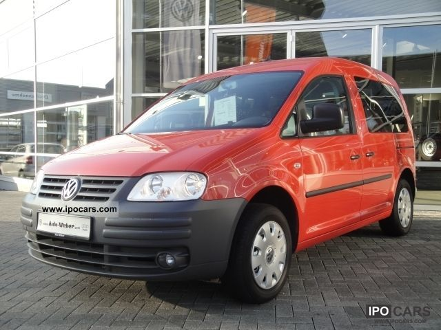 Volkswagen  Caddy EcoFuel 2.0 NAVI Life 2008 Compressed Natural Gas Cars (CNG, methane, CH4) photo