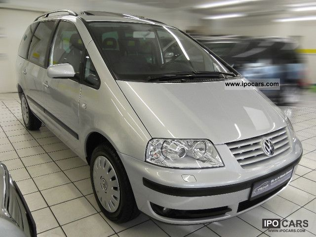 2003 volkswagen sharan 1 8 t auto navi xenon pdc egsd shzg car photo and specs. Black Bedroom Furniture Sets. Home Design Ideas
