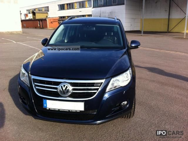 2011 Volkswagen  Tiguan 2.0 TDI 4Motion team Off-road Vehicle/Pickup Truck Used vehicle photo