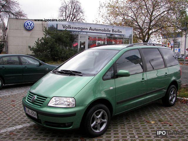 2001 Volkswagen  Sharan 1.8 5V Turbo Van / Minibus Used vehicle photo