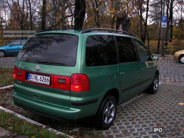 2001 Volkswagen Sharan 1 8 5v Turbo Car Photo And Specs