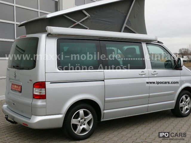 2007 volkswagen t5 california comfortline 4motion aufstelld car photo and specs. Black Bedroom Furniture Sets. Home Design Ideas