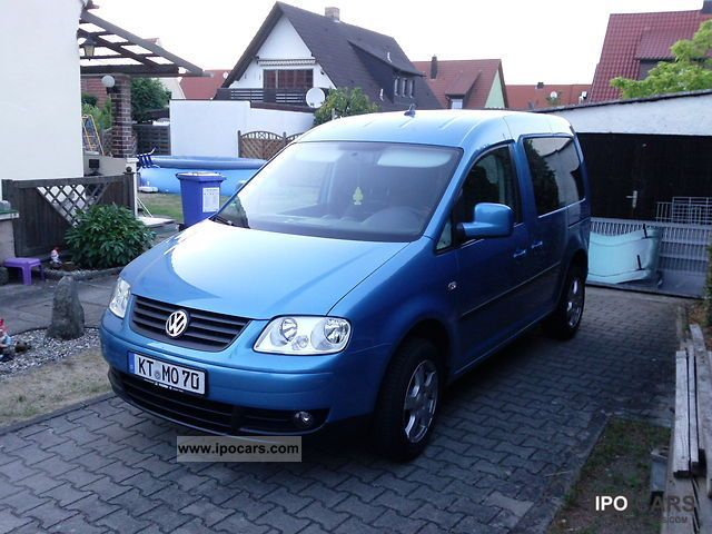Volkswagen  Caddy 1.9 TDI Family Life (7-Si). Chiptuning 2007 Tuning Cars photo