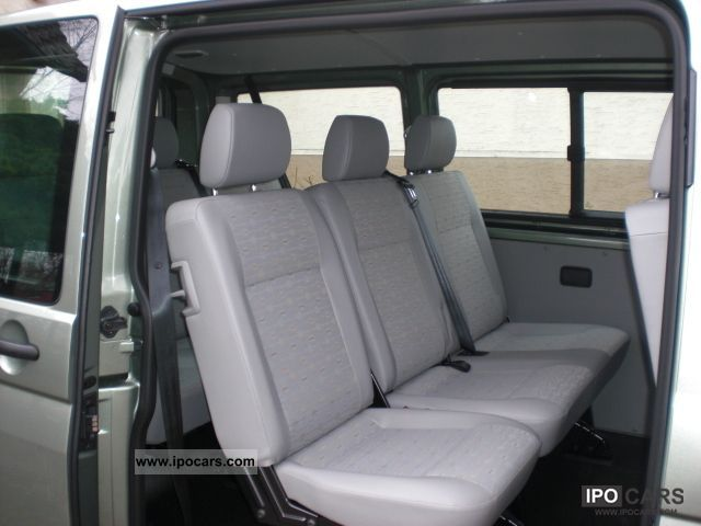 2012 Volkswagen Transporter T5 Kombi 9 seater - Car Photo and Specs
