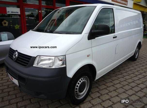 2009 Volkswagen  Transporter T5 TDI box LR / Truck +1. HAND! Other Used vehicle photo