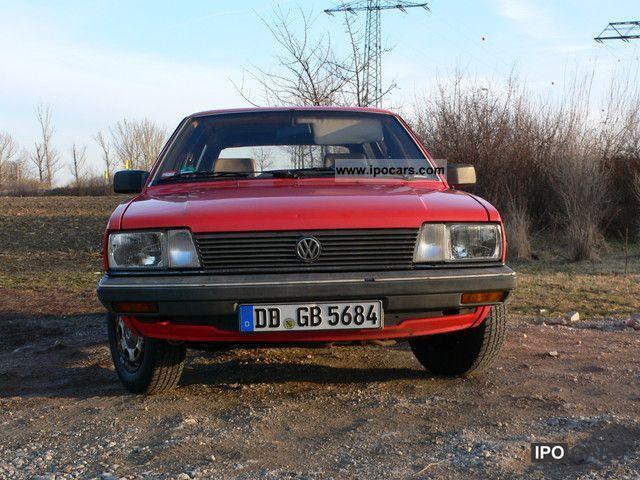 1984 Volkswagen Passat 32b Car Photo And Specs