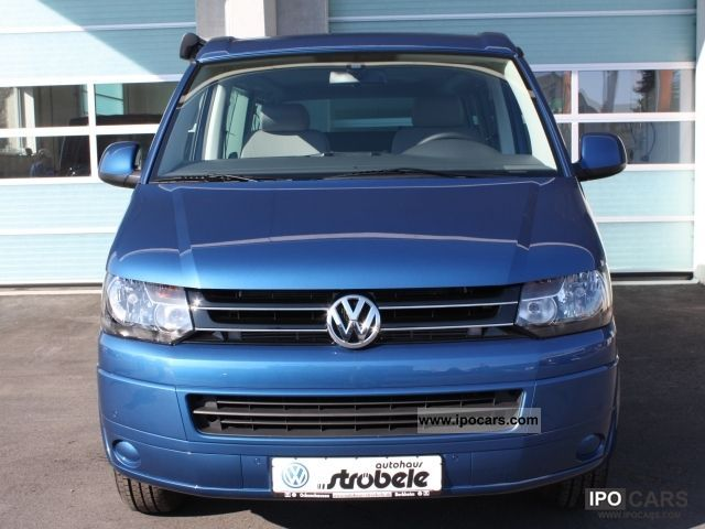 2012 volkswagen california beach edition 25 up roof t5 2 0 car photo and specs. Black Bedroom Furniture Sets. Home Design Ideas