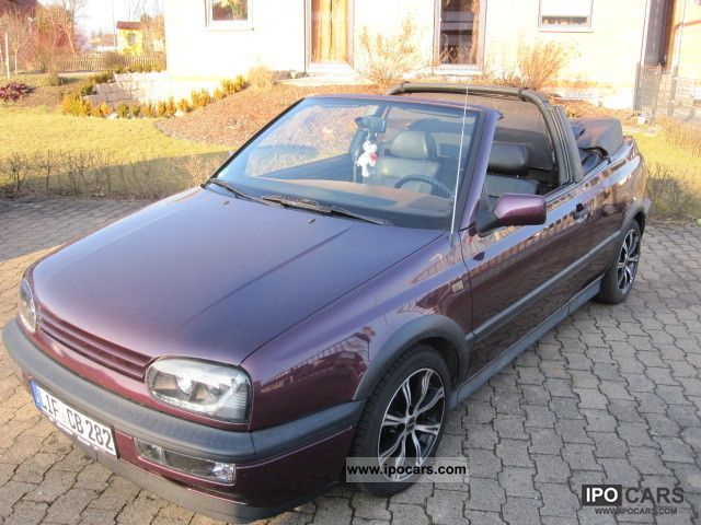 Volkswagen  Golf Cabrio 66kw TUNING NEW ROOF TOPZUSTAND 1996 Tuning Cars photo