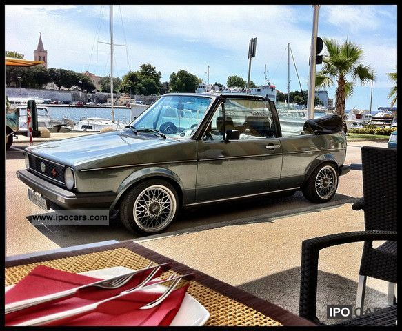 Volkswagen  Golf GTI Cabrio Schrick 1978 Vintage, Classic and Old Cars photo