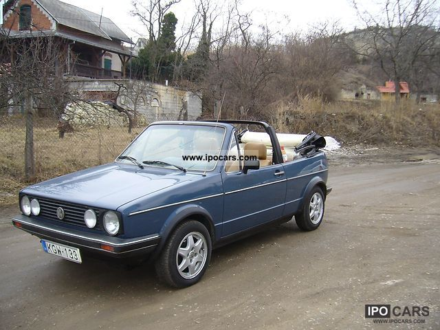 Volkswagen  Golf I 1.5 GLS CONVERTIBLE AUT 1978 Vintage, Classic and Old Cars photo