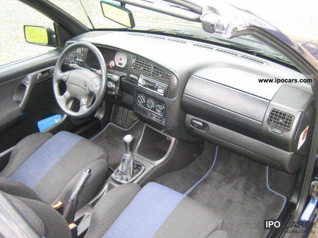 1996 Volkswagen Golf Cabrio 1 8 Bon Jovi Car Photo And Specs