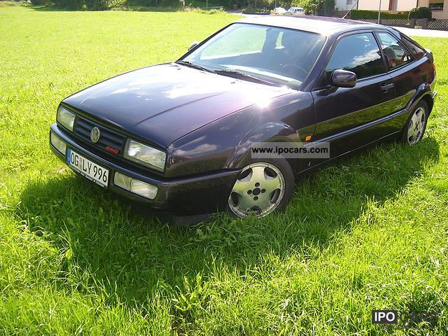 1993 Volkswagen  Corrado 1.8 G60 G-Lader defective! Sports car/Coupe Used vehicle photo