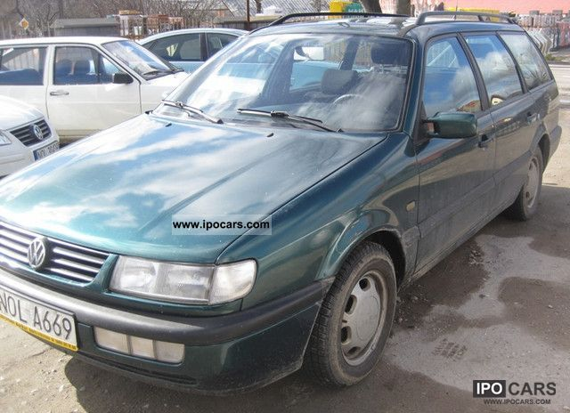 Volkswagen  Passat! BENZYNA + GAZ! COMBINATION! 1996 Liquefied Petroleum Gas Cars (LPG, GPL, propane) photo