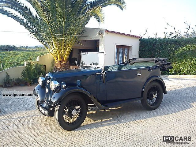 Austin  SEVEN OPEN ROAD TOURER AAK-RARE 1935 Vintage, Classic and Old Cars photo