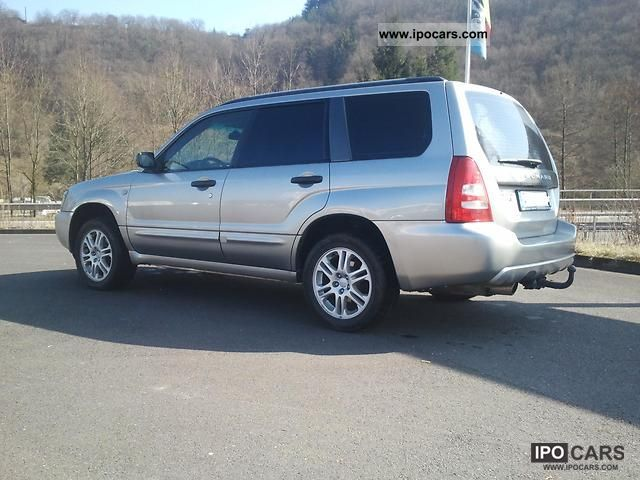 2004 subaru forester 2 5xt turbo gas system car photo and specs. Black Bedroom Furniture Sets. Home Design Ideas