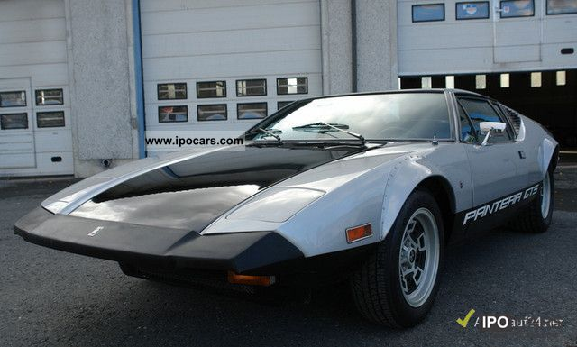 DeTomaso  Pantera GTS 351c 4v 1974 Vintage, Classic and Old Cars photo