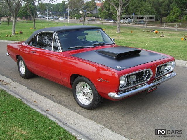 1967 Plymouth Barracuda Notchback Car Photo And Specs