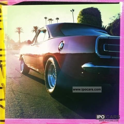 1967 Plymouth Barracuda Notchback - Car Photo and Specs