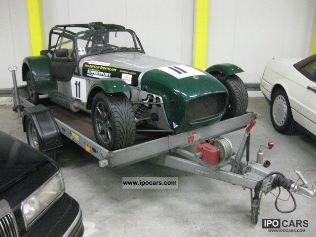 2008 Caterham  Road sports car circuit, Including trailer! Cabrio / roadster Used vehicle photo