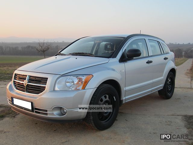 2007 dodge caliber 2 0 crd sxt car photo and specs. Black Bedroom Furniture Sets. Home Design Ideas