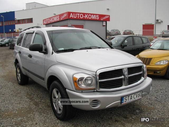 Dodge  Durango 5.7HEMI + GAZ 2007 Liquefied Petroleum Gas Cars (LPG, GPL, propane) photo