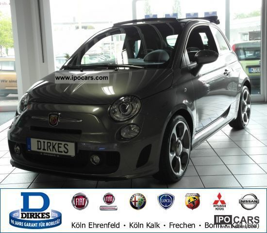 2012 Abarth  1.4 T-Jet 500C KLIMAAUTOMATIK Cabrio / roadster Employee's Car photo