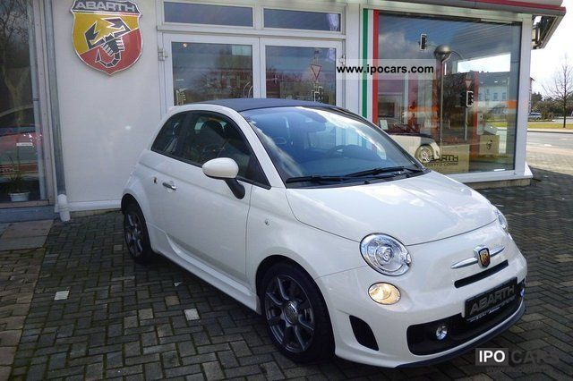 2012 Abarth  500 C 1.4 16V Turbo Cabrio / roadster Demonstration Vehicle photo