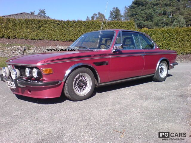 Alpina  BMW 3.0 CSI B2 1974 Vintage, Classic and Old Cars photo