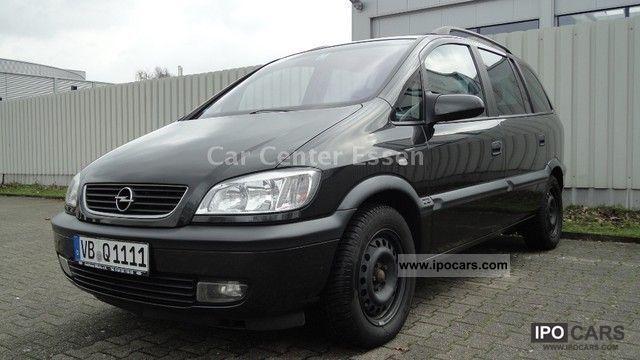 2000 Opel Zafira 1 8 Elegance Cruise Control Climate