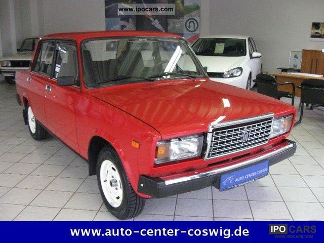 1991 Lada  2107 from 1.Hand with 46.7 thousand km in top condition Limousine Used vehicle photo