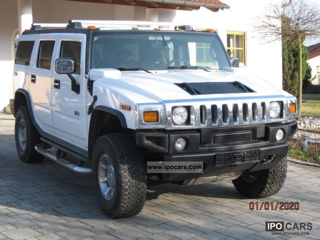 Hummer  H2 leather, trailer hitch, Bose, Aut., Gas conversion 2005 Liquefied Petroleum Gas Cars (LPG, GPL, propane) photo